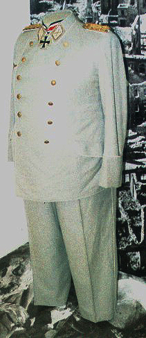 Uniform of Hermann Göring (part of an exhibiti...