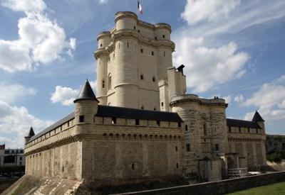fotografía del castillo de Vincennes