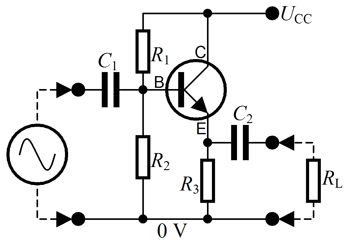 File Common Collector Amplifier