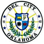 A picture of the Del City Seal taken from the ...