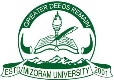 Mizoram University Time Table