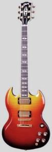 guitar Gibson SG supreme
