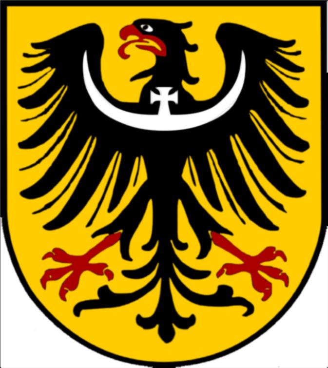 Wappen der preußischen Provinz Schlesien - Staat Preußen - Deutsches Reich / Empire Allemande / German Empire
