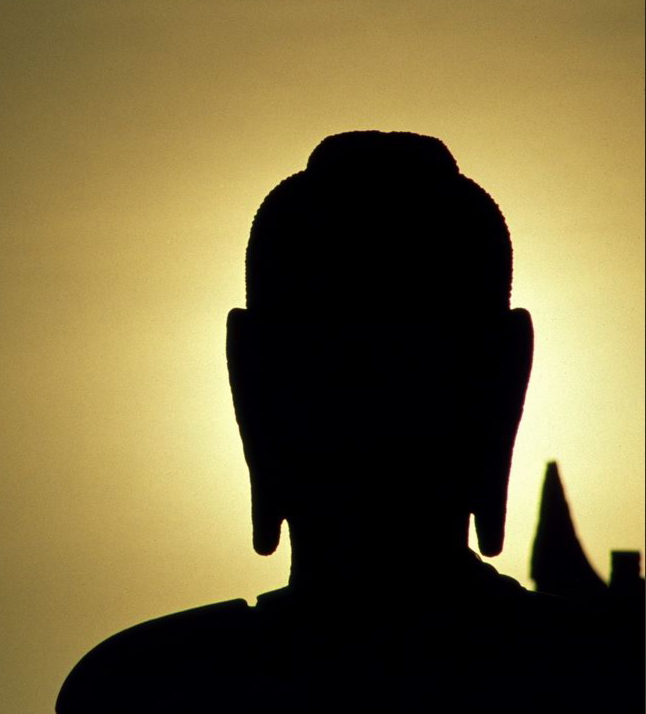 buddhist sunset