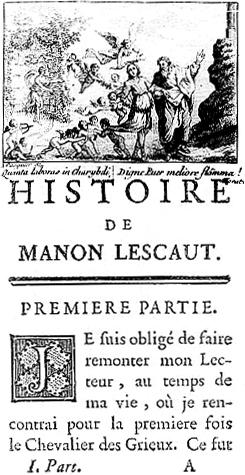 Illustration of Abbé Prévost's Histoire du Che...