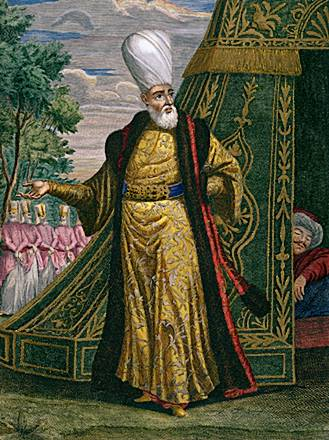 A Janissary agha