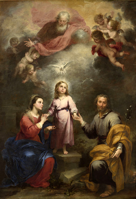Bartolomé Esteban Murillo - The Heavenly and E...