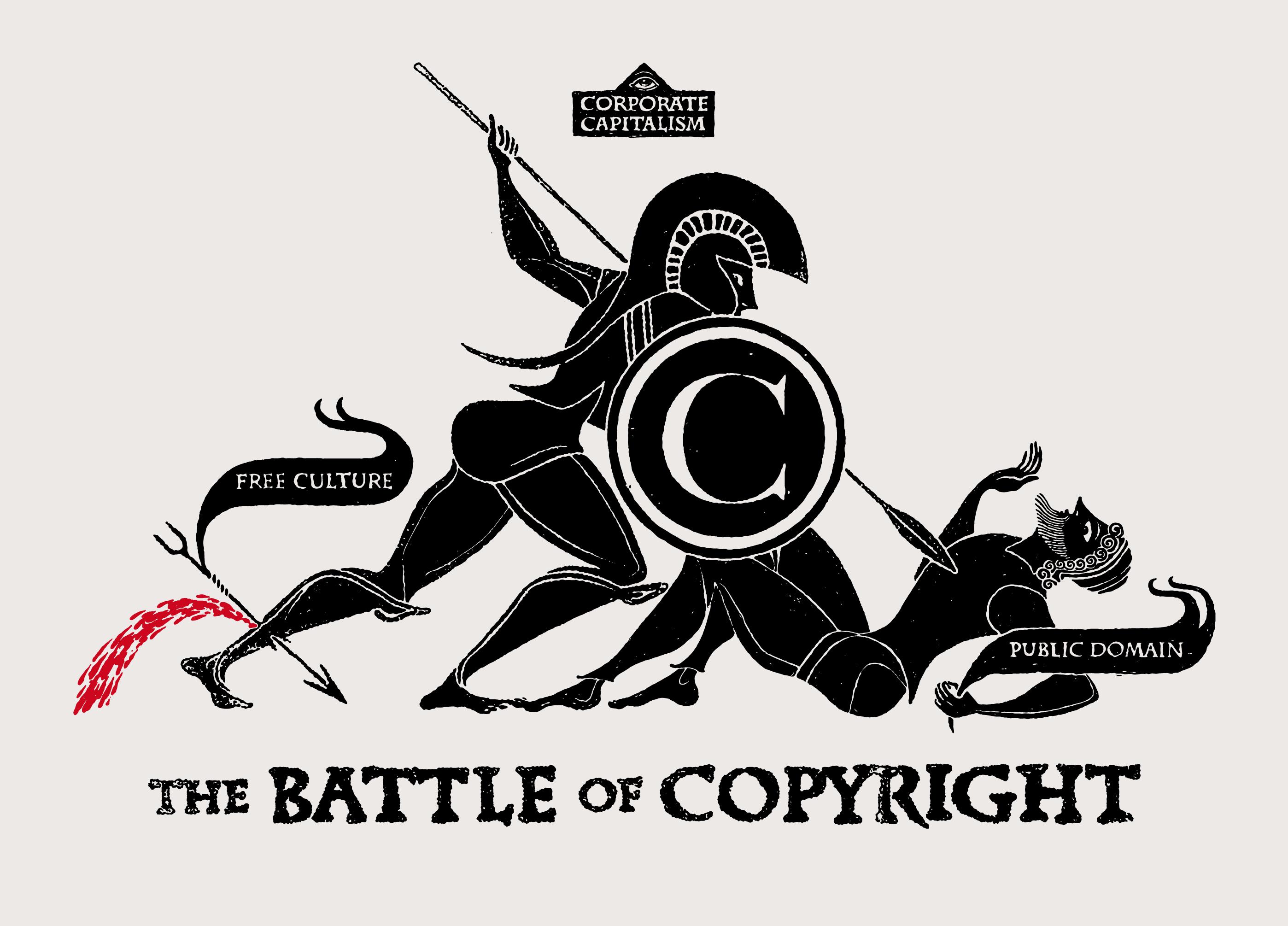 Embedded copyright meta data in files