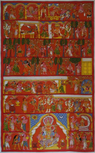 Cheriyal Scroll Painting Wikipedia