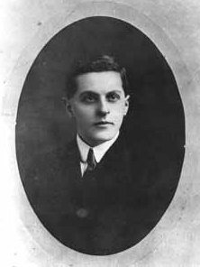Ludwig Wittgenstein in his youth.