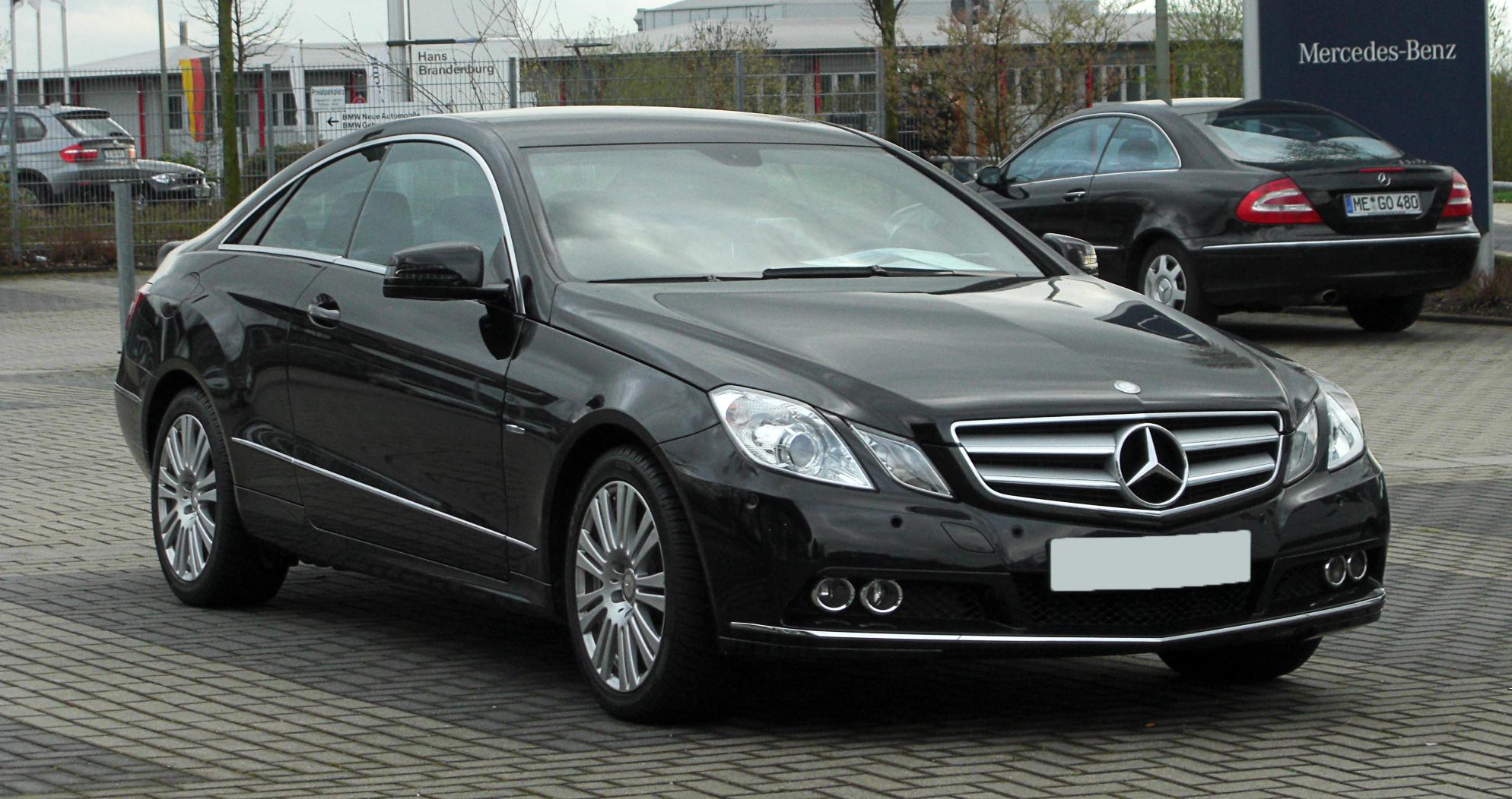File Mercedes Benz E 200 Cgi Blueefficiency Coupe C 207
