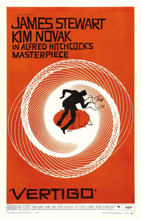 Vertigo movie poster