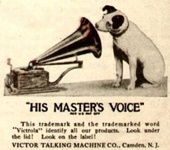 English: Victor Talking Machine Company logo