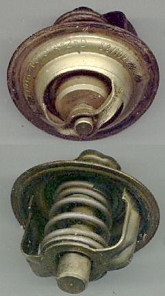 Car engine wax thermostatic element