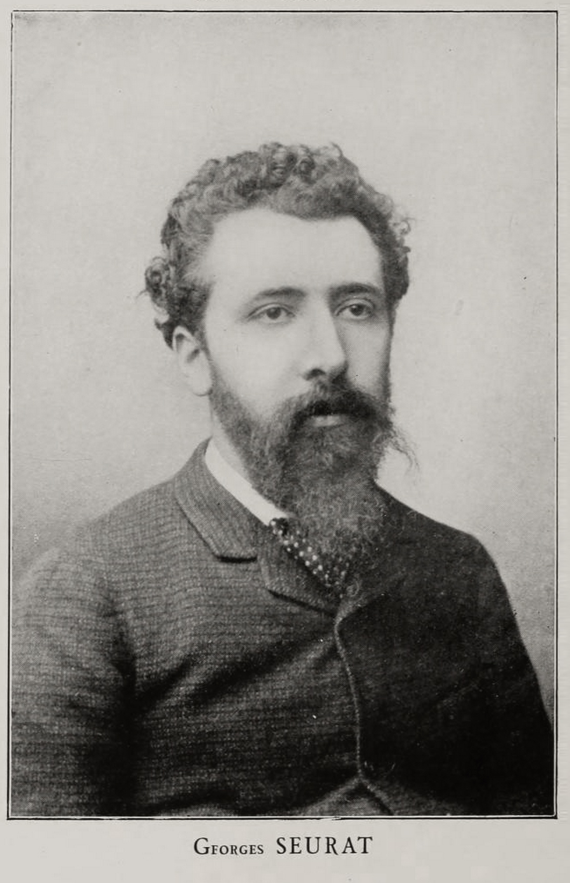Artist Georges Seurat circa 1888
