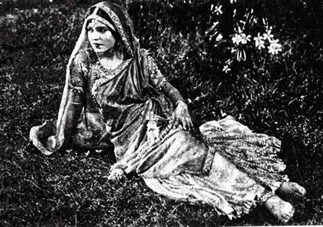 Zubeida, a silent era actress in Indian Cinema...