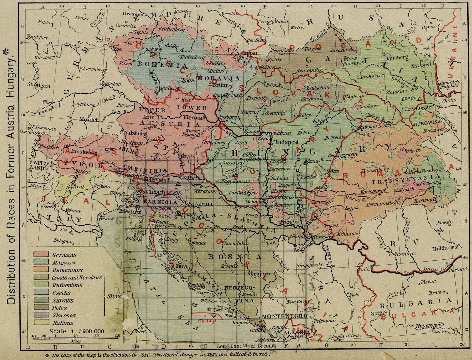 Datei Austria Hungary And Post War Borders