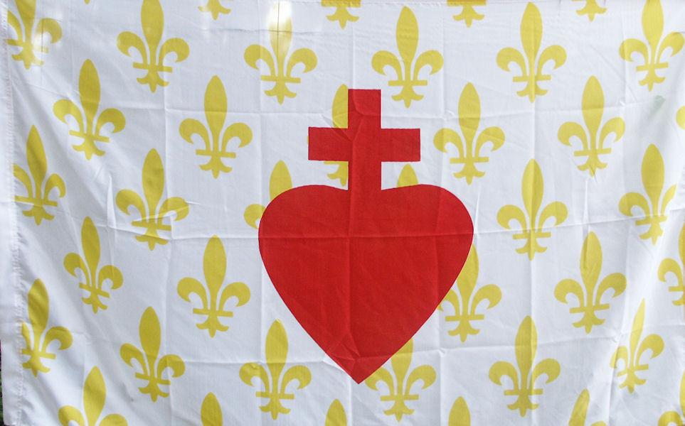 Bandera legitimista francesa