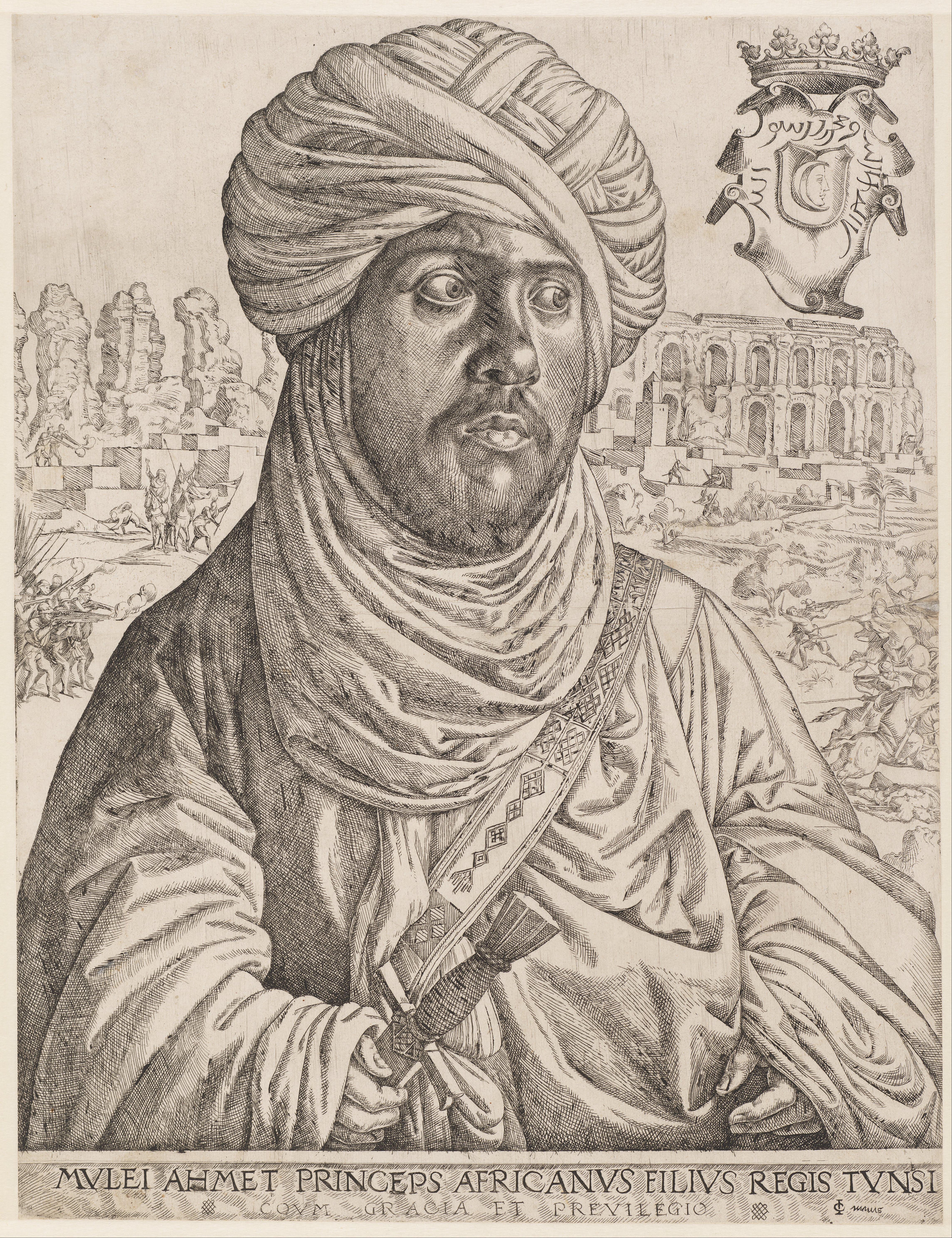 Le sultan Hafside Mulay Ahmad de Tunis