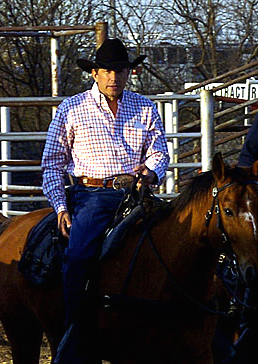 George Strait, at the San Antonio Stock Show &...