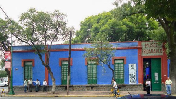 Frida Kahlo House Mexico City