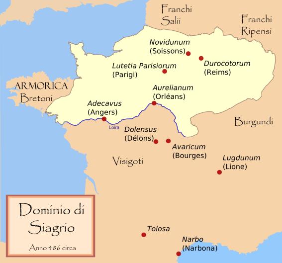 cartina regno di Siagro