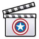 Bouclier Captain America, for superheroes movie