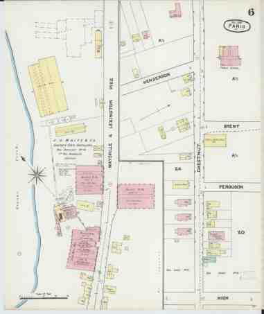 File Sanborn Fire Insurance Map From Paris Bourbon County Kentucky Loc Sanborn03227 002 6 Jpg Wikimedia Commons