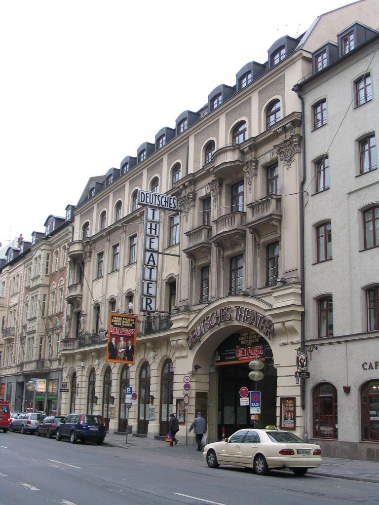 Deutsches Theater Munich Wikipedia