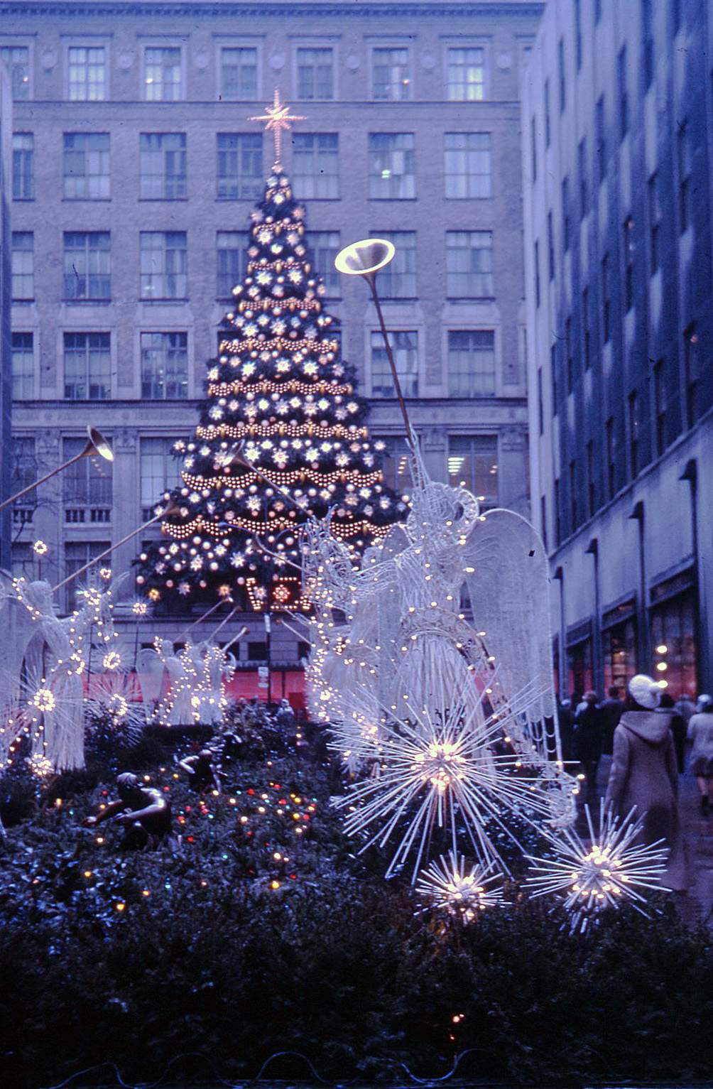 FileRockefeller Center Christmas Tree New York 1970