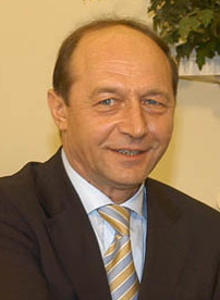 Romanian President Traian Băsescu, March 9, 2005