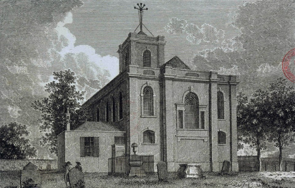 File:Woolwich, St Mary Magdalene, J P Malcolm 1798 LMA.jpg