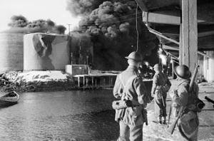 English: Operation Claymore (4 March 1941) - R...