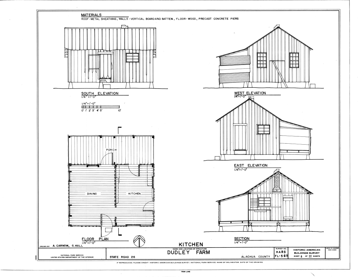 Farmhouse Architectural Plans