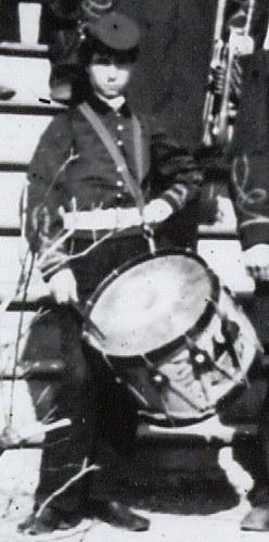 Union Army drummer