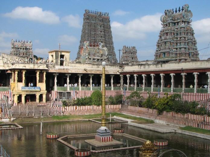 Image result for Meenakshi Temple, Madurai