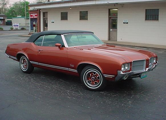 1970s Oldsmobile Cutlass
