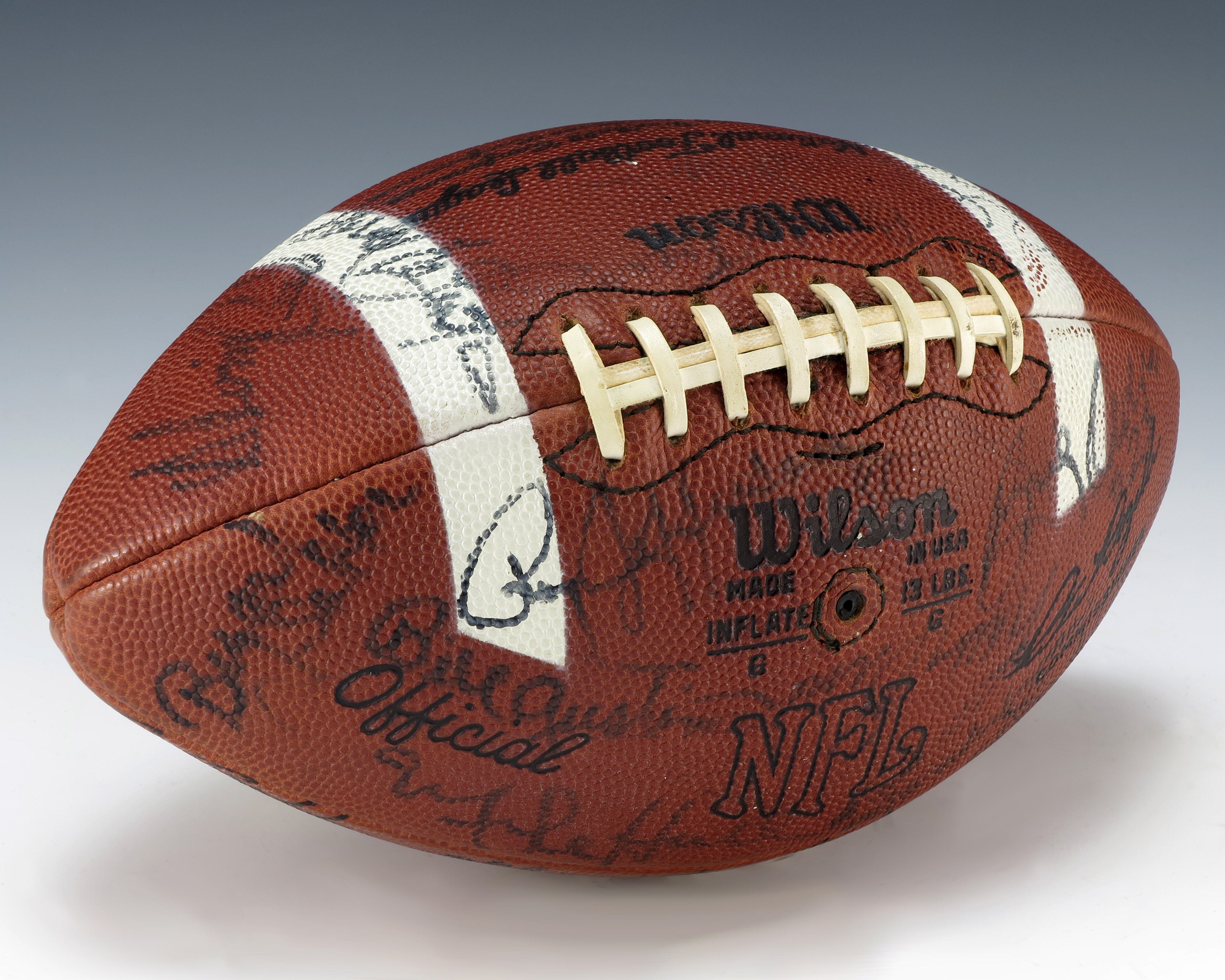 FileBetty Fords Monday Night Football Game Ball 1975