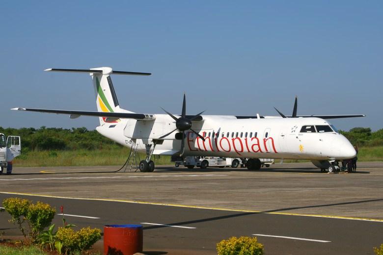 Image result for ethiopian airlines q400
