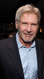 Harrison Ford at the Pacific Design Center in ...
