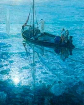 Disciples See Jesus Walking on Water