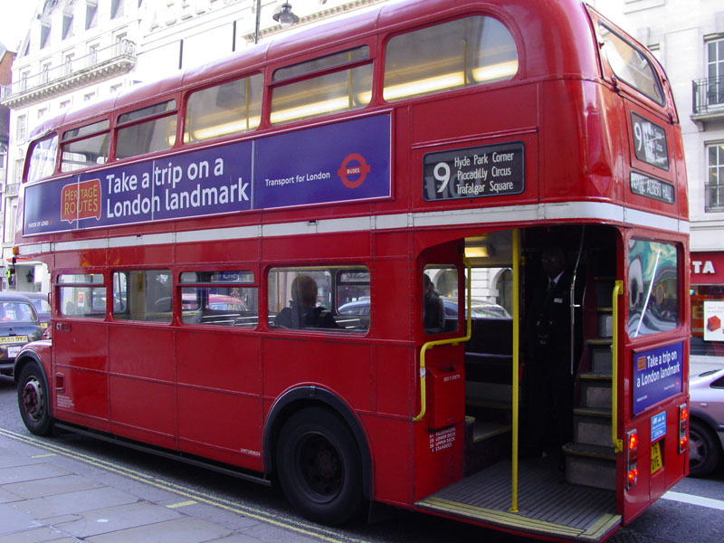 Heritage Routemaster Bus