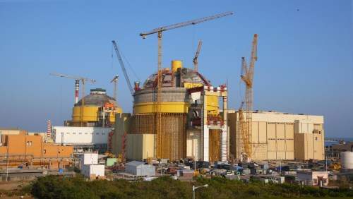 English: Construction site of the Koodankulam ...