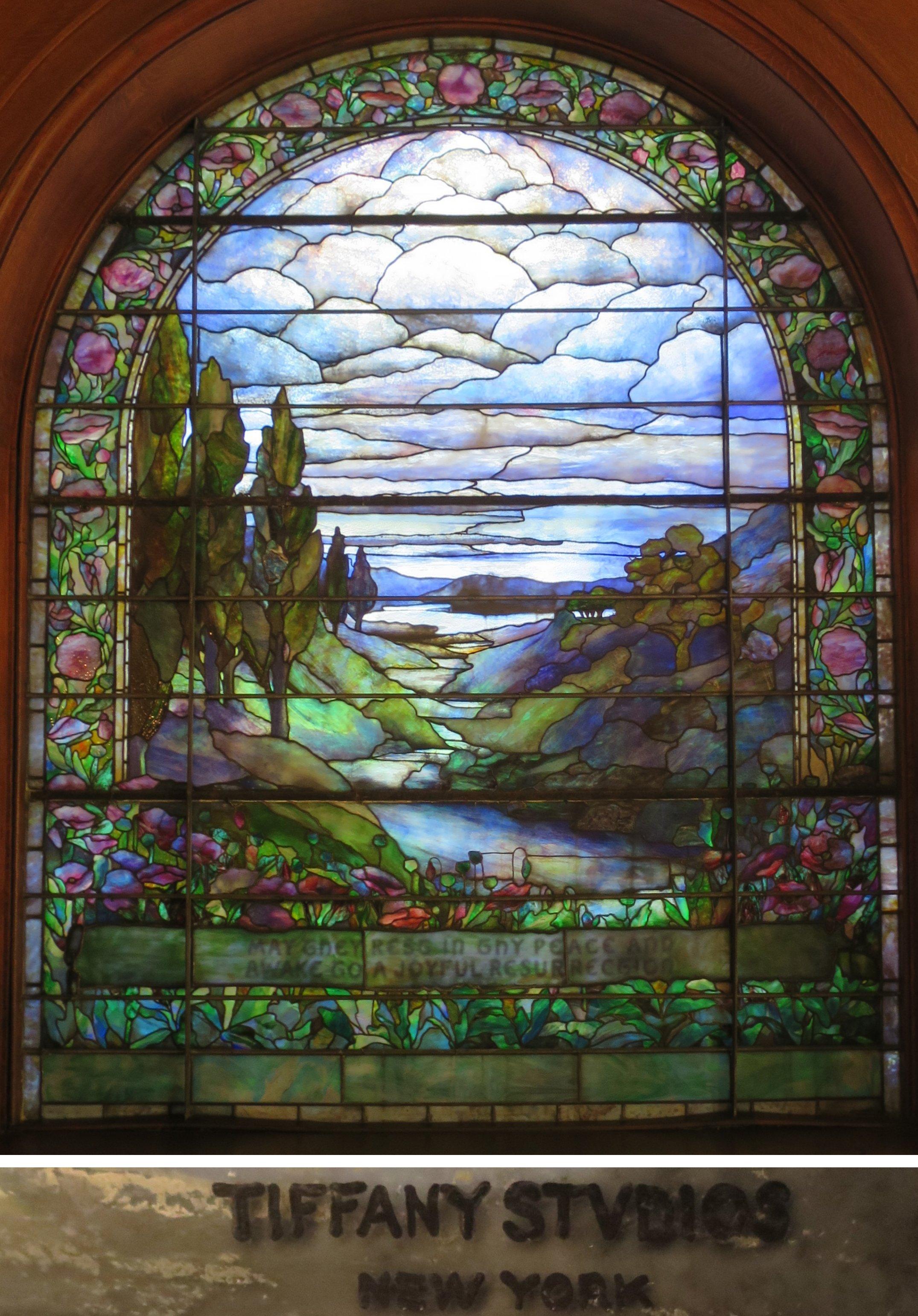 FileTiffany Window Woodland Cemetery Chapel Dayton