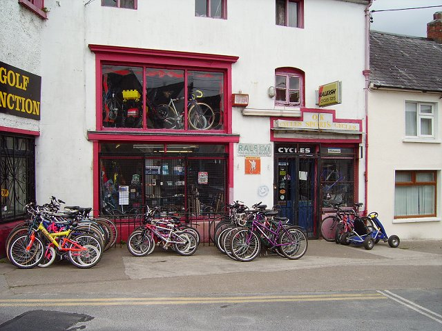 Bike shop, Carrick on Suir.