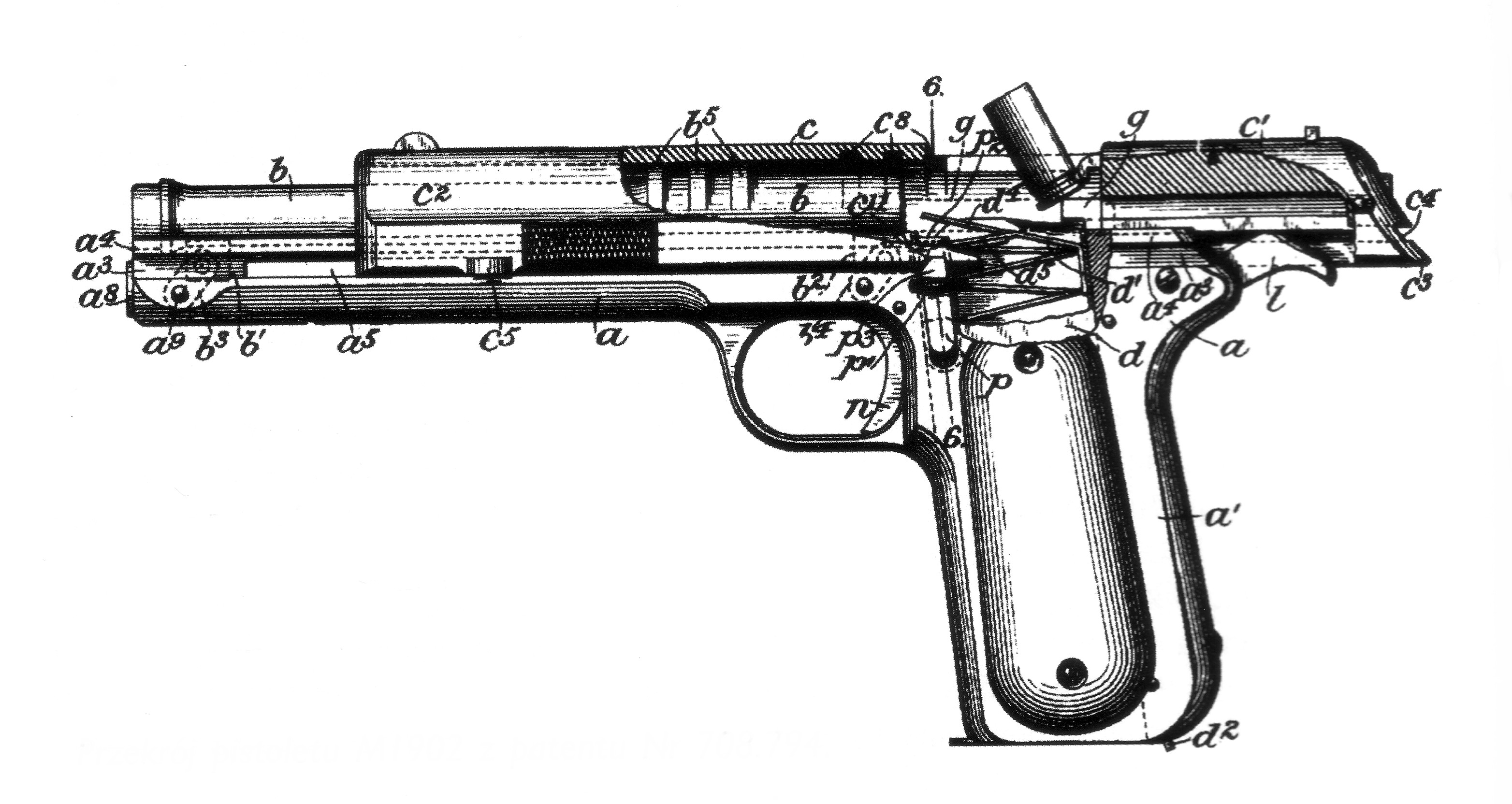 Cutaway Of The Day Colt Model The Model