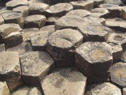English: Close up of Giant's Causeway. Español...