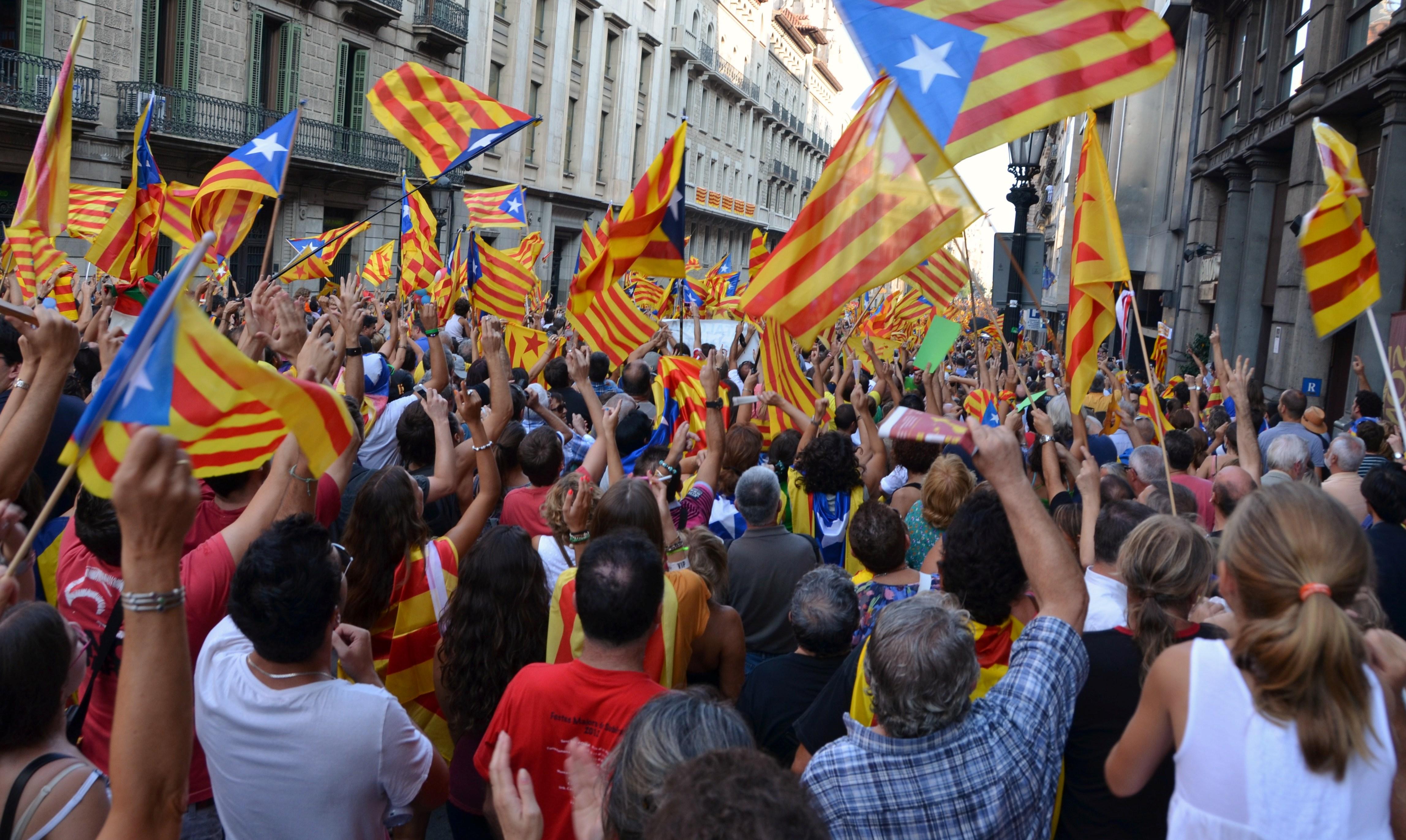 Resultado de imagen de cataluña independencia