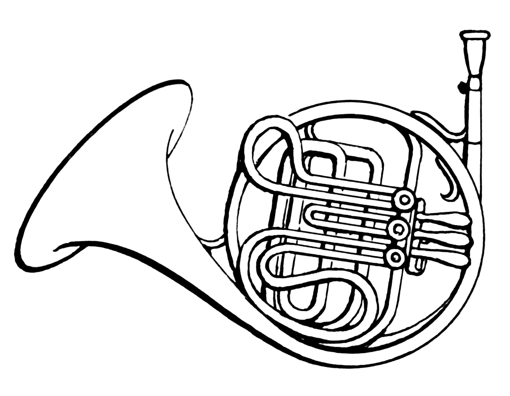 description french horn psf png