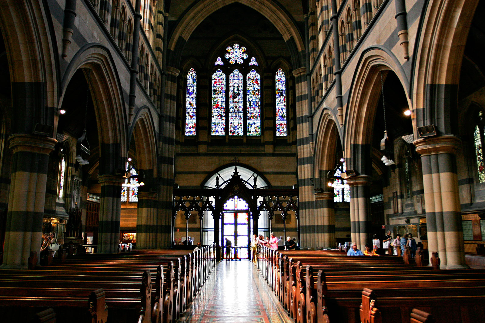 St. Paul's Cathedral in Melbourne, Australia